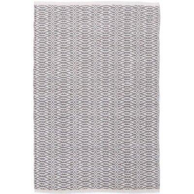 Dash & Albert Europe Fair Isle Woven Grey/Platinum Rug