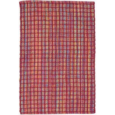 Dash & Albert Europe Coco Hand-Woven Red Indoor/Outdoor Area Rug