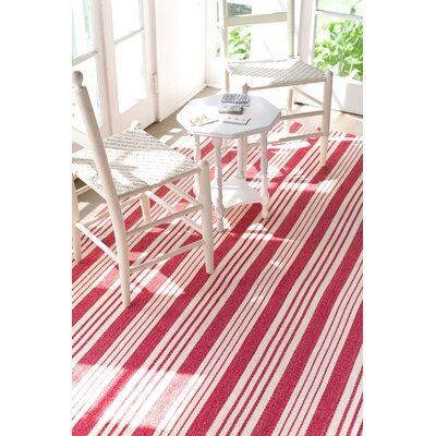 Dash & Albert Europe Birmingham Hand-Loomed Red Rug