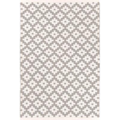 Dash & Albert Europe Samode Hand-Woven Ivory/Grey Indoor/Outdoor Area Rug