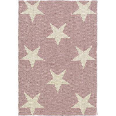 Dash & Albert Europe Star Pink/Ivory Indoor/Outdoor Area Rug