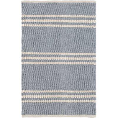Dash & Albert Europe Lexington Hand-Woven Grey/Ivory Indoor/Outdoor Area Rug