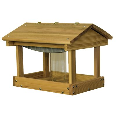 Pavilion with Seed Hopper Bird Feeder