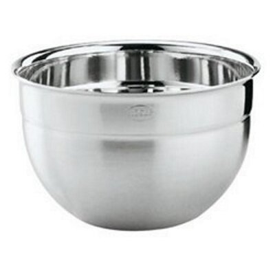 Deep Professional Stainless Steel Mixing Bowl Size: 3 Quart
