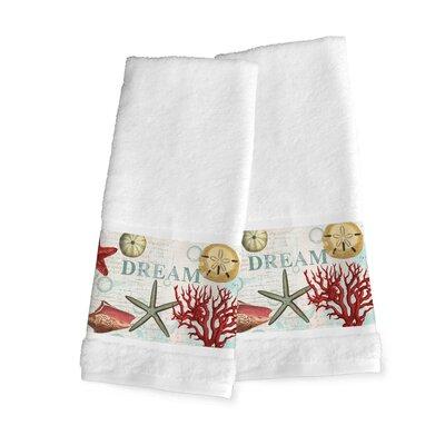 Dream Beach Shells 100% Cotton Hand Towel