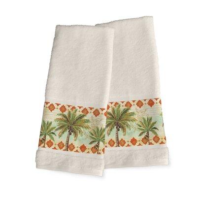 Palm 100% Cotton Hand Towel