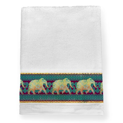 Elephant 100% Cotton Bath Towel