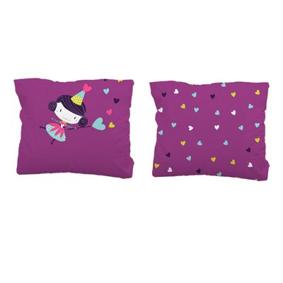 Sélène et Gaïa Prunette Fée Fairy Housewife Pillowcase