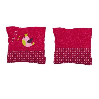 Sélène et Gaïa Princesse Guinguette Square Pillowcase