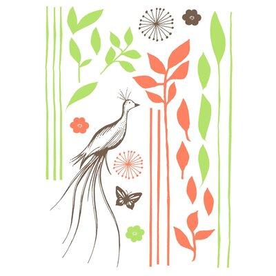 Sélène et Gaïa Féerie Végétale Plant Wall Stickers