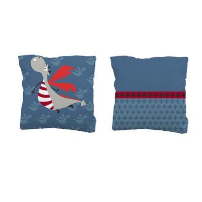 Sélène et Gaïa Dragono Dragon Square Pillowcase