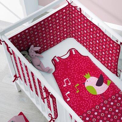 Sélène et Gaïa Princesse Guinguette Crib Bumper