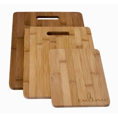 Culina 3-Piece Bamboo Cutting Board Set