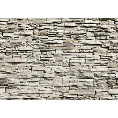 NEXT! BY REINDERS Die Mauer 2.54m L x 366cm W Roll Wallpaper