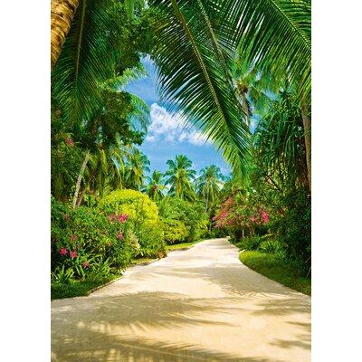 NEXT! BY REINDERS Tropical Path 2.54m L x 183cm W Roll Wallpaper
