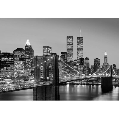 NEXT! BY REINDERS Brooklyn Brücken 2.54m L x 366cm W Roll Wallpaper