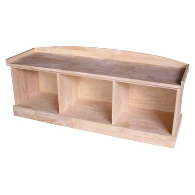 Melynda Wood Storage Bench