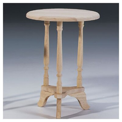 Caschera Unfinished Parawood Plant Stand