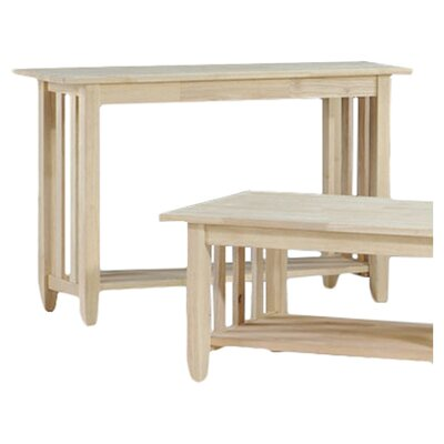 International Concepts Mission Console Table