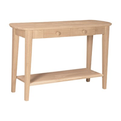 Unfinished Philips Console Table