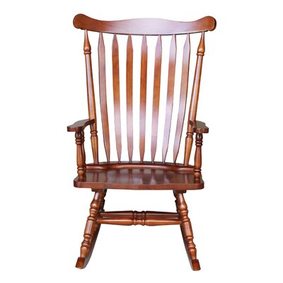 Rocking Chair Frame Color: Cherry