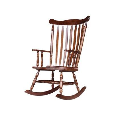 Rocking Chair Frame Color: Espresso