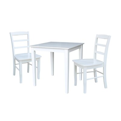 Croce 3 Piece Dining Set