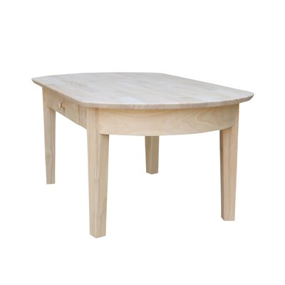 Unfinished Wood Philips Coffee Table