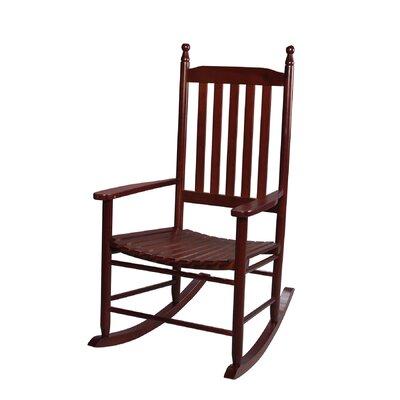 Dahlonega Slat Rocking Chair Frame Color: Cherry