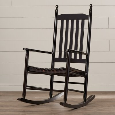 Dahlonega Slat Rocking Chair Frame Color: Espresso
