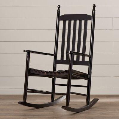 Dahlonega Slat Rocking Chair Frame Color: Espresso