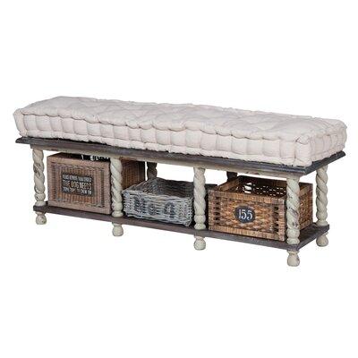 Elsenborn Wood Storage Bench