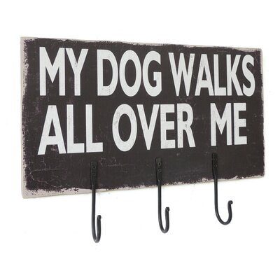 Dylan Dog Sign Wall Hook