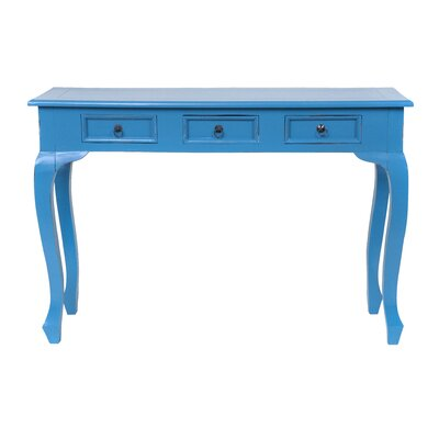 Hansen Console Table Color: Antique Dark Blue