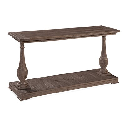 Travis Console Table Color: Smoked Barn Wood