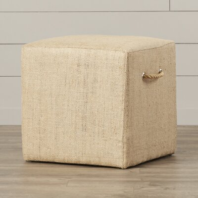 August Grove Ollie Linen Stool
