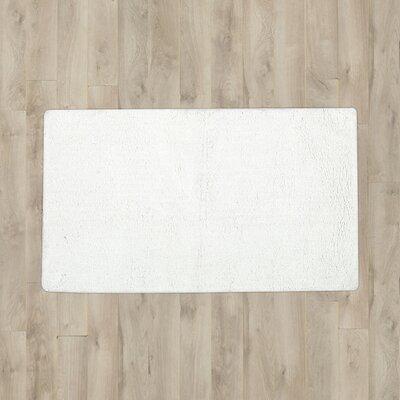 Pierro Plush Solutions Bath Mat Color: White