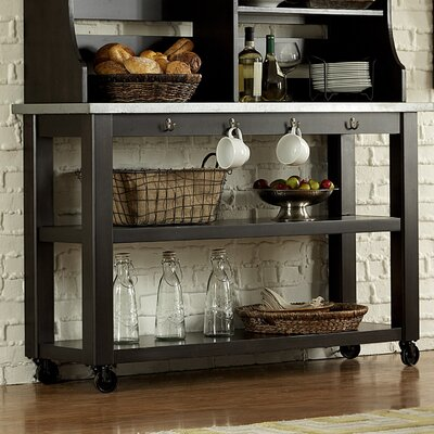 Gardner Console Table Color: Charcoal