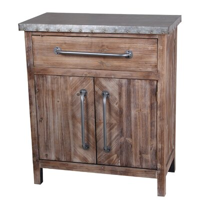 Alpine 2 Door Accent Cabinet
