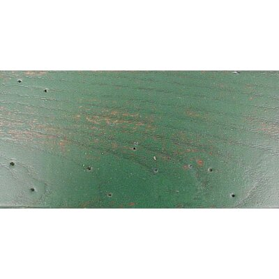 South Port Bench Color: WoodLeaf Green