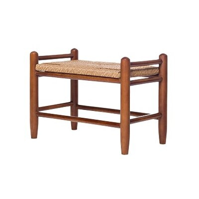 Rigby Fireside Vanity Stool Color: WoodLeaf Hickory