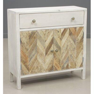 Islemade 1 Drawer 2 Door Cabinet
