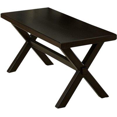 Gardner Wood Bench Color: Charcoal