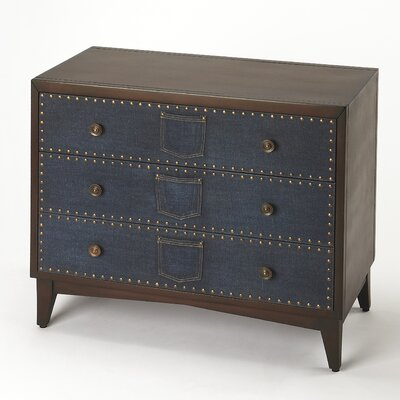 Kara 3 Drawer Chest