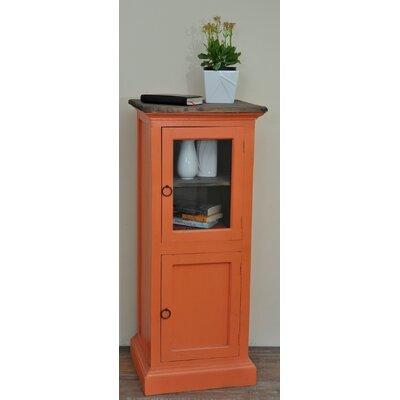 Julianne Glass 1 Door Accent Cabinet