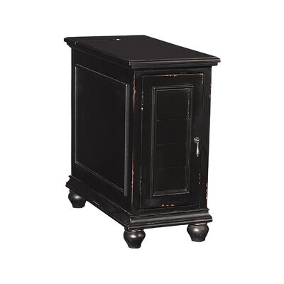 Deschambault Accent Cabinet Color: Black