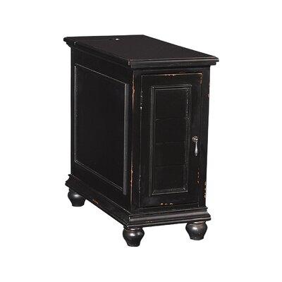 Deschambault Accent Cabinet Color: Black