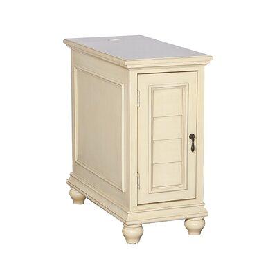 Deschambault Accent Cabinet Color: Cream