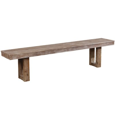 Grenadille Wood Bench