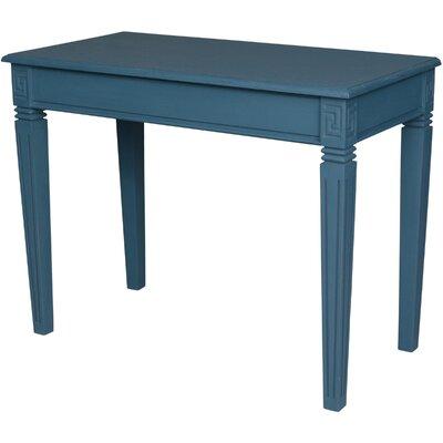 Saire Indoor Writing Desk Finish: Antique Blue